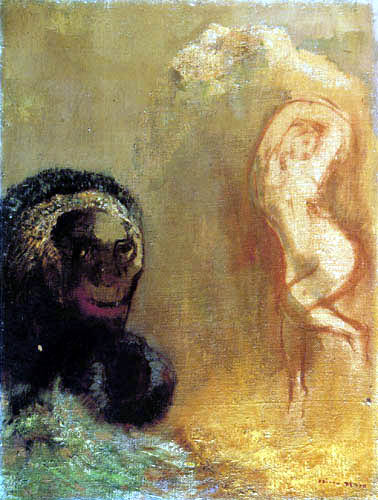 Odilon Redon - Andromeda et le monstre