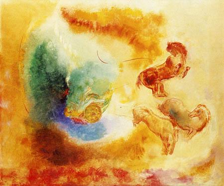 Odilon Redon - Der Sturz des Phaeton