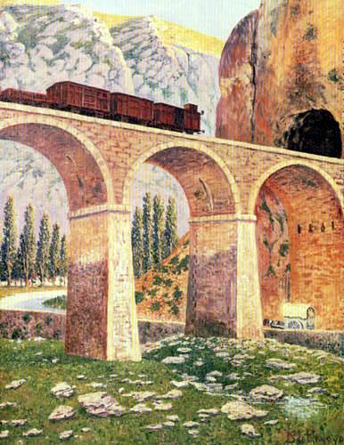Darío de Regoyos y Valdés - Tunnel of Pancorbo