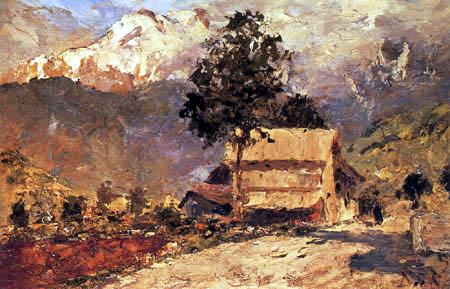 Darío de Regoyos y Valdés - Alpine landscape