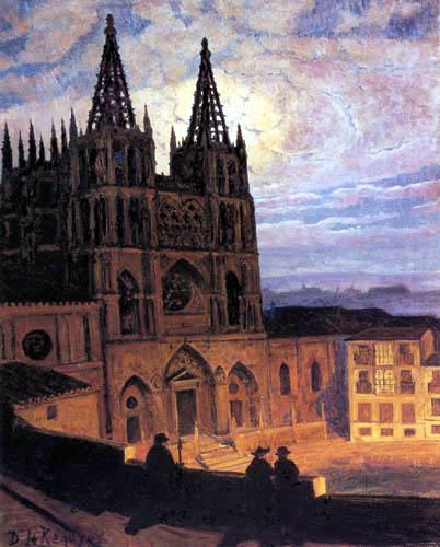 Darío de Regoyos y Valdés - Cathédrale de Burgos