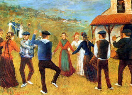 Darío de Regoyos y Valdés - Dance in Biscay