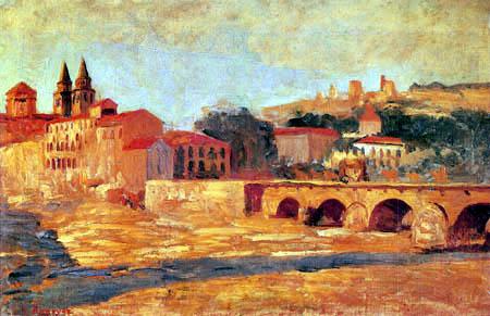 Darío de Regoyos y Valdés - The bridge on the Genil
