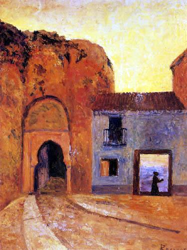 Darío de Regoyos y Valdés - Puerta de las Pesas, Granada