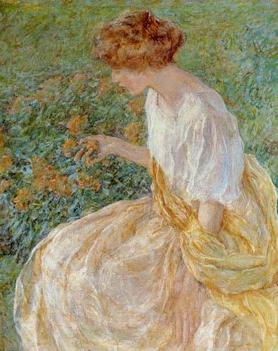 Robert Lewis Reid - La flor amarilla