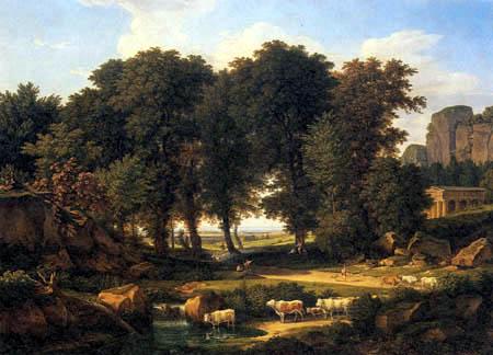 Johann C. Reinhart - Cows