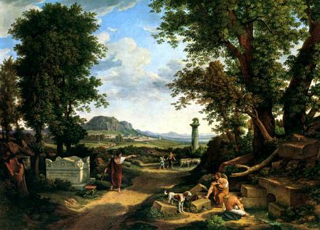 Johann C. Reinhart - Landscape