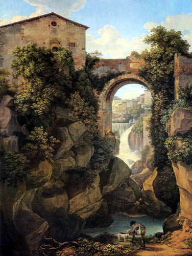 Johann C. Reinhart - View of Tivoli