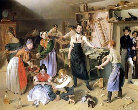 Johann Baptist Reiter - Fleißige Tischlerfamilie