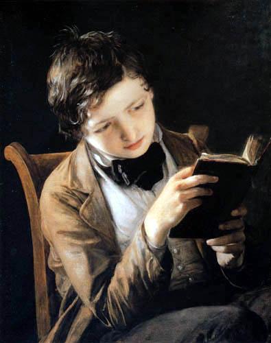 Johann Baptist Reiter - Lesender Knabe