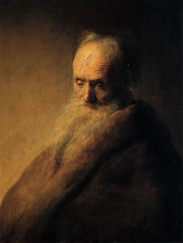 Hermansz. van Rijn Rembrandt - Portrait of a old man