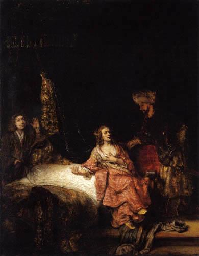 Hermansz. van Rijn Rembrandt - Joseph und die Frau des Potiphar