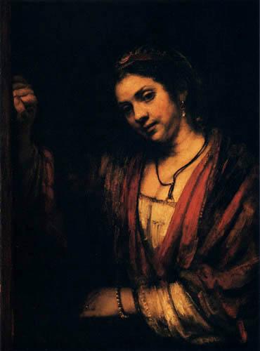 Hermansz. van Rijn Rembrandt - Portrait of a Woman