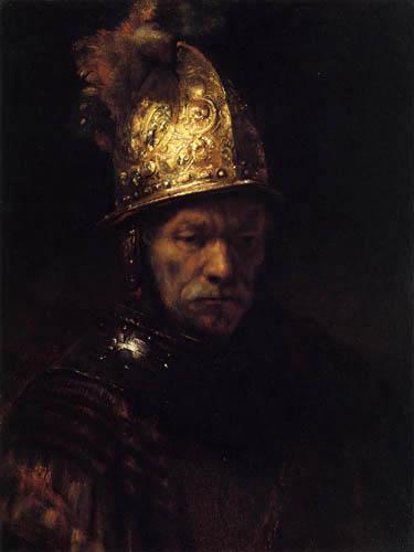 Hermansz. van Rijn Rembrandt - Man in a Golden Helmet