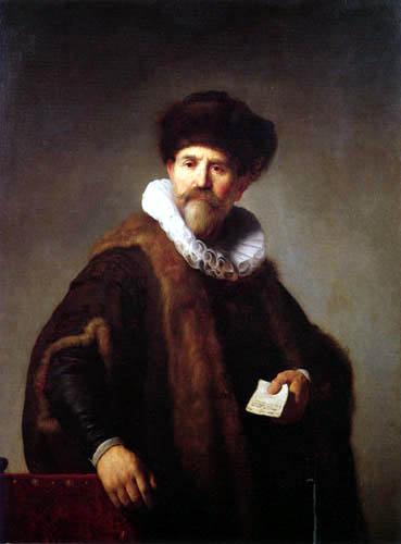 Hermansz. van Rijn Rembrandt - Portrait of Nicolaes Ruts