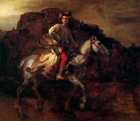 Hermansz. van Rijn Rembrandt - The Polish Rider