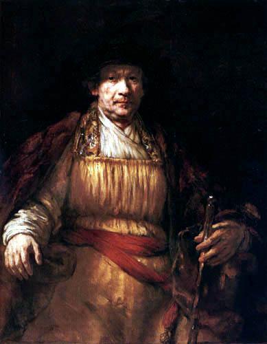 Hermansz. van Rijn Rembrandt - Selfportrait