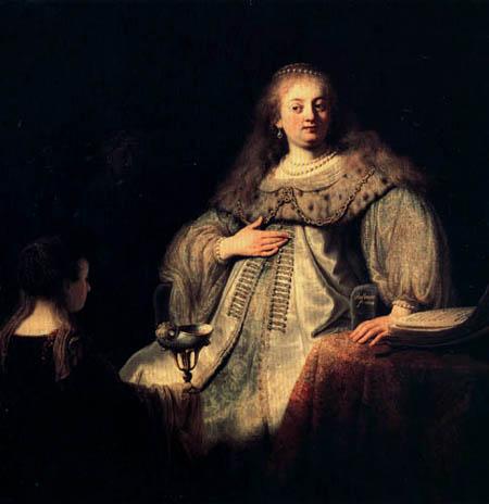 Hermansz. van Rijn Rembrandt - Sophonisba receives the poisoned chalice of Artemis