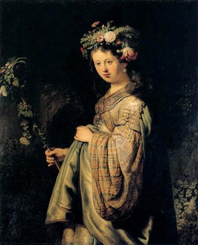 Hermansz. van Rijn Rembrandt - Saskia als Flora