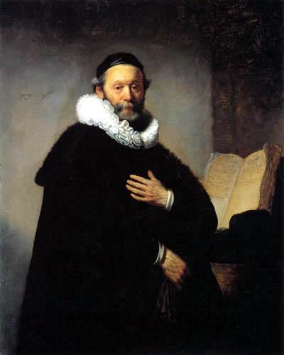 Hermansz. van Rijn Rembrandt - Portrait of Johannes Wtenbogaert