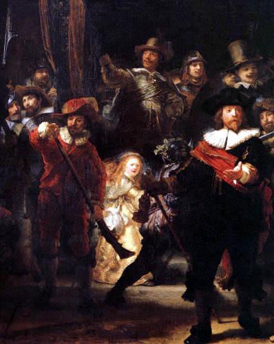 Hermansz. van Rijn Rembrandt - The night watch, detail