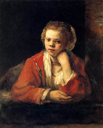 Hermansz. van Rijn Rembrandt - Girl at the window