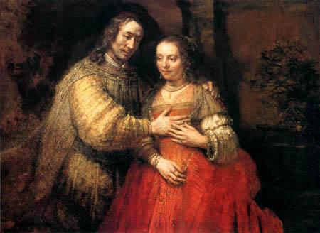 Hermansz. van Rijn Rembrandt - Isaak und Rebekka (Die Judenbraut)