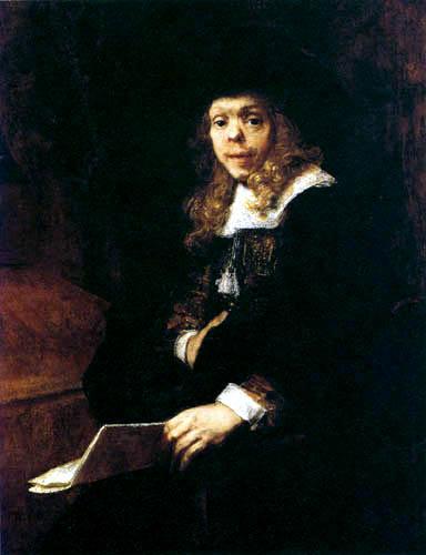 Hermansz. van Rijn Rembrandt - Portrait of Gerard de Lairesse
