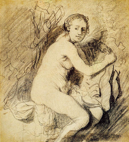 Hermansz. van Rijn Rembrandt - Diana at the Bath