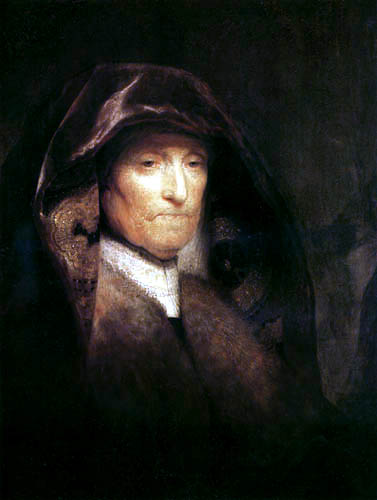 Hermansz. van Rijn Rembrandt - An old woman