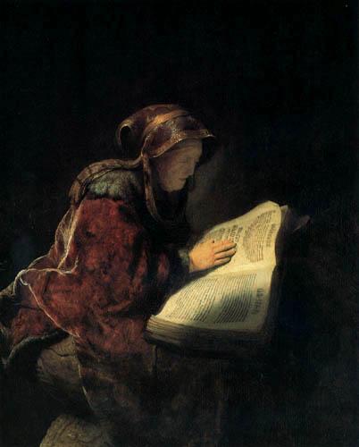 Hermansz. van Rijn Rembrandt - The Prophetess Anna
