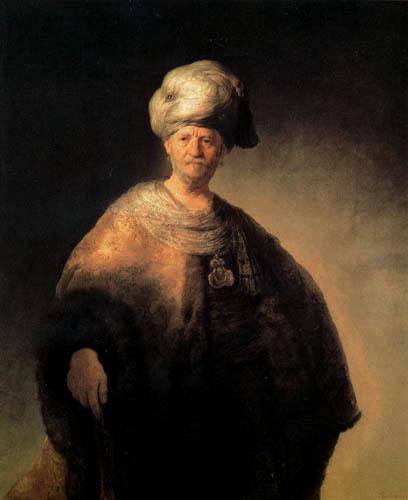 Hermansz. van Rijn Rembrandt - Man in Oriental Costume