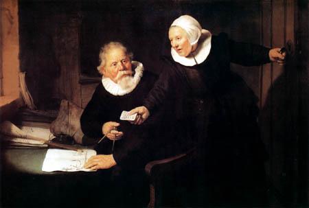 Hermansz. van Rijn Rembrandt - Jan Rijksen and Griet Jans