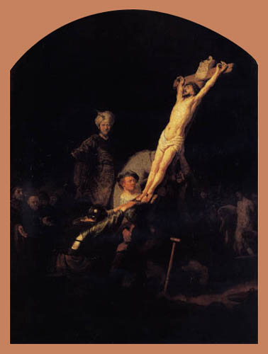 Hermansz. van Rijn Rembrandt - The Elevation of the Cross