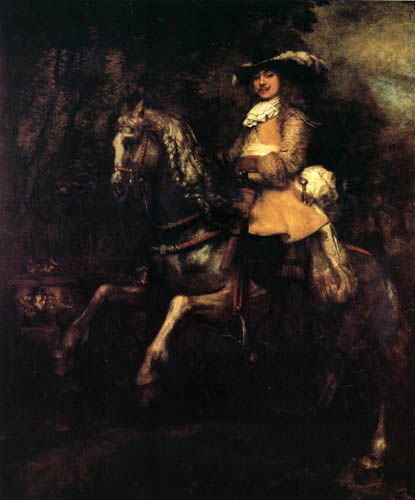 Hermansz. van Rijn Rembrandt - Equestrian Frederick Ribel