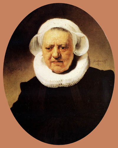 Hermansz. van Rijn Rembrandt - Portrait of a old woman