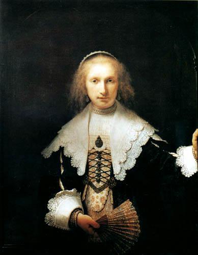 Hermansz. van Rijn Rembrandt - Portrait of Agatha Bas