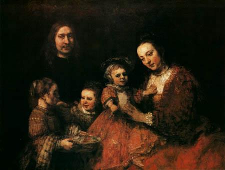 Hermansz. van Rijn Rembrandt - A family group
