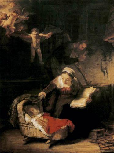 Hermansz. van Rijn Rembrandt - The holy family