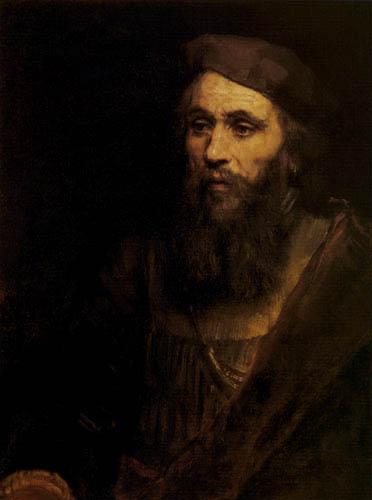 Hermansz. van Rijn Rembrandt - Portrait of a man