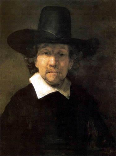 Hermansz. van Rijn Rembrandt - The Poet Jeremias van Decker