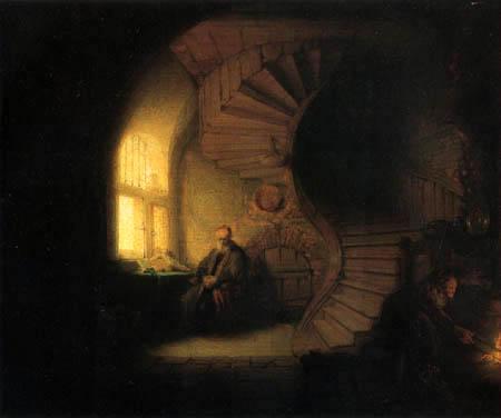 Hermansz. van Rijn Rembrandt - Meditierender Philosoph