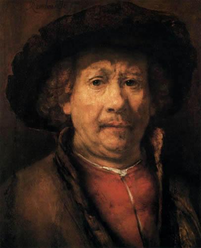 Hermansz. van Rijn Rembrandt - The small Selfportrait