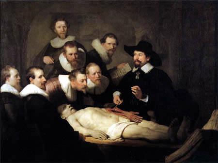 Hermansz. van Rijn Rembrandt - The anatomy of Nicolaes Tulp