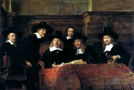 Hermansz. van Rijn Rembrandt - De Staalmeesters