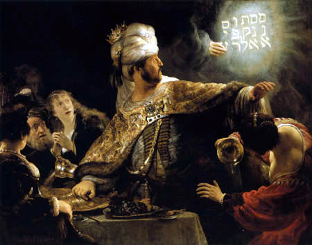 Hermansz. van Rijn Rembrandt - The Feast of Belsazar