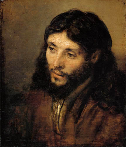 Hermansz. van Rijn Rembrandt - A Christ head
