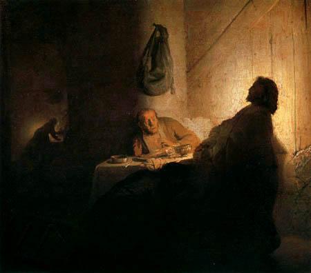 Hermansz. van Rijn Rembrandt - Christ in Emmaus