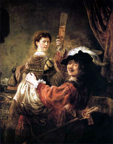 Hermansz. van Rijn Rembrandt - Selfportrait and Saskia