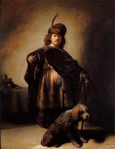 Hermansz. van Rijn Rembrandt - Selfportrait in Oriental Costume